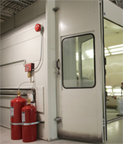 Spray Booth Fire Suppression System